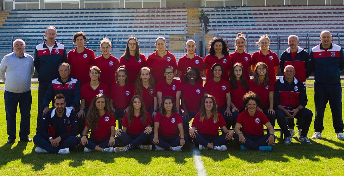 Squadra di calcio serie b femminile girone C Pro San Bonifacio Prosambo - Campionato 2016-2017